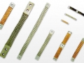 Cordoalhas com barramento flexível e terminais estanhados