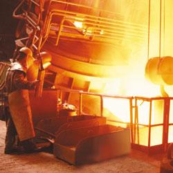 Atendemos demandas de recuperação e reparos estruturais para o segmento siderúrgico